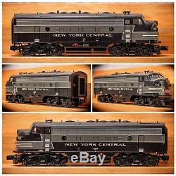 6-34511 Lionel LEGACY New York Central F-7 ABA Set O Gauge Scale 3 Rail NYC TMCC