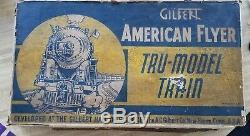 American Flyer Pre-war 5640 NYC Hudson Freight Set withTRU MODEL Set BoxMixed