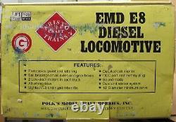 Aristo-Craft ART-23611 NYC/New York Central EMD E-8 Diesel Engine G-Gauge LNIB