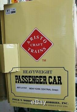 Aristo-craft G Scale New York Central Passenger Car set