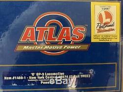 Atlas O Tmcc New York Central Gp-9 Diesel Engine! Fits Lionel Mth K-line Nyc