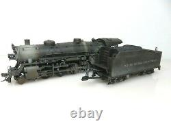 Broadway Limited HO #108 New York Central 2-8-2 Locomotive DCC/Sound Weathered