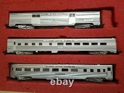Con Cor Ho #0004 Empire State Express Nyc 7 Piece Passenger Set Tested, Runs