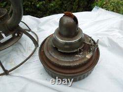 Dietz Vesta New York Central Railroad Kerosene Lantern Nice, Original