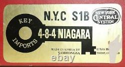 HO BRASS KEY IMPORTS/SAMHONGSA NEW YORK CENTRAL 4-8-4 S1b NIAGARA