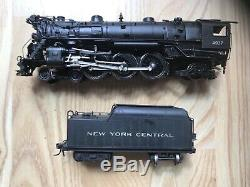 HO Brass Sunset NYC New York Central K-5 4-6-2 #4937 Custom Train