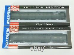 HO Scale Walthers NYC New York Central 20th Century Limited 9-Car Passenger Set