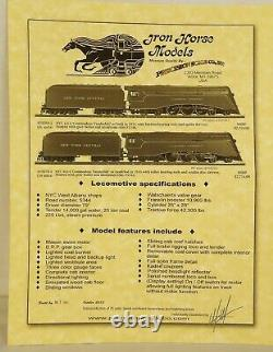 Iron Horse Models Psc #18370-1 Nyc 4-6-4 Commodore Vanderbilt Loco & Tender-mib