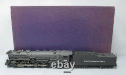 KTM O 2-Rail Brass New York Central L-2A 4-8-2 Steam Locomotive & Tender EX/Box
