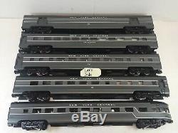 K-Line K4670D/E New York Central 21 Aluminum Passenger Set (5 Cars)