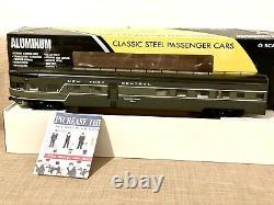 K-Line K4670 O NYC New York Central 21 Aluminum Observation Passenger Car NIB