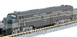 Kato N Scale E7A 2 Locomotive Set NYC #4008/4022 DC DCC Ready 1060440