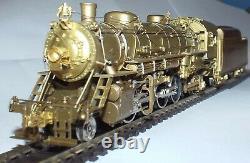 Key Imports Ho Scale Nyc 1800 Class 2-8-2 Mikado Unpainted Brass Locomotive