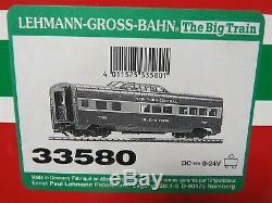 LGB 33580 NYC New York Central Streamline Dome Passenger Car with Lights 592094