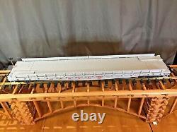 LGB 41540 New York Central Flatcar Set Plastic Wheels LN/Box G Scale