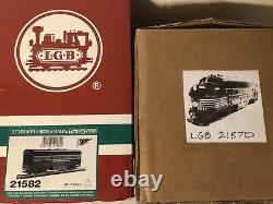 LGB (Lehmann) New York Central F-3 A and B Locos 21570 21582