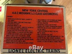 LIONEL 6-18009 New York Central Mohawk 4-8-2 L-3 Steam & TENDER NEW D465