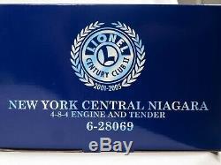 LIONEL 6-28069 New York Central Niagara 4-8-4 Loco Century Club Tender NIB