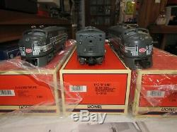LIONEL CENTURY CLUB 6-18135, 18178 NYC F3 A-B-A TMCC & BOXCAR and DISPLAY CASE