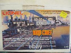 LIONEL MODERN 6-1502 NEW YORK CENTRAL YARD CHIEF STEAM SWITCHER SET With ORIG BOX