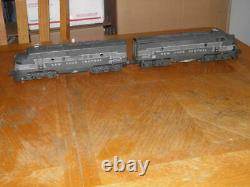 Lionel 2333p & 2333t New York Central F3 A-a Set Great Set To Restore Or Parts