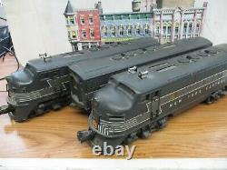 Lionel #2344 F-3 New York Central Powered, Dummy & 2344C B Unit Tested Runs