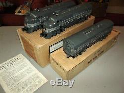 Lionel 2344 New York Central Aa Master Carton & 2344px C 1950 Drop Dead Gorgeous