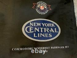Lionel 6-13008 New York Central Commodore Vanderbilt withPassenger Cars STD Gauge