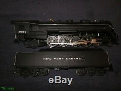 Lionel 6-18009 New York Central NYC 4-8-2 L3 Mohawk Steam Loco & Tender #VZ
