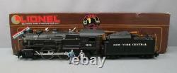 Lionel 8-85102 New York Central 4-4-2 Steam Locomotive & Tender/Box