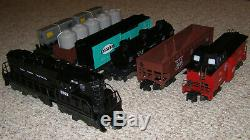 Lionel American Flyer, New York Central Freight Set, 7 Units, Unused, Boxes