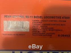 Lionel Legacy Penn Central Rs-11 Diesel Engine 6-38453 New York