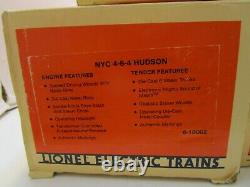 Lionel New York Central 4-6-4 Hudson Locomotive & Tender + Six Cars Nib