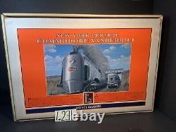 Lionel New York Central Commodore Vanderbilt # 6-1804 OB, SHIP. BOX. INST