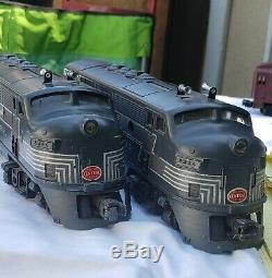 Lionel Post War New York Central #2344 ABA F3 Diesels O Gauge