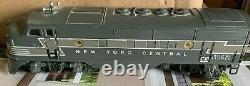 Lionel Postwar 2344 New York Central F3 Diesel ABA Locomotive Set