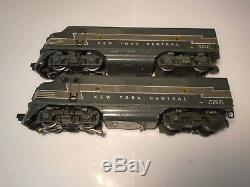 Lionel Postwar 2344 New York Central F3 Diesel Aa Units