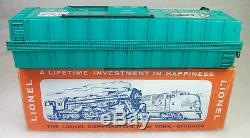 Lionel Postwar Rare 6464-900 Type 3 New York Central Box Car Exc Tired Orig Box