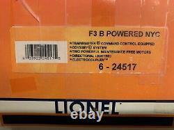 Lionel Tmcc New York Central Powered F3 B Unit Diesel Engine Set 6-24517