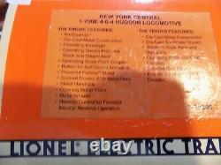 Lionel Trains New York Central 1-700E 4-6-4 Steam Locomotive & Tender #6-18005