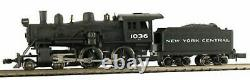 MODEL POWER 876301 N SCALE New York Central 4-4-0 American w Sound & DCC
