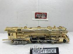 MTH 20-3040-1 New York Central Gold Plated 4-6-4 Hudson WithProto (No Box)