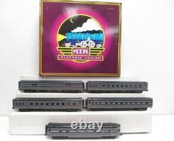 MTH 20-65094 O New York Central 70' Streamlined Passenger Car Set (Set of 5) EX