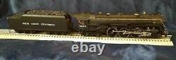 MTH MT-3020LP New York Central 4-6-4 J-1e Hudson Steam Engine O Scale Locomotive