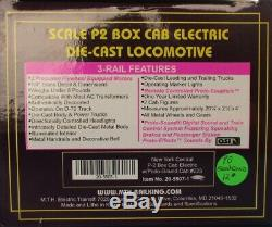 MTH O Gauge New York Central #223 P-2 Box Cab Electric Engine Loco#20-5507-1U