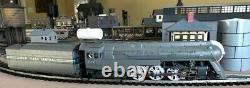 MTH Premier O 3-Rail N Y C Dreyfus Hudson 4-6-4 #5447 PS 2.0 3v 20-3217-1