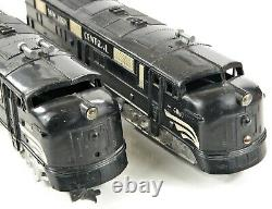 Marx #4000 New York Central NYC E-7 Diesel A-A Set /199/