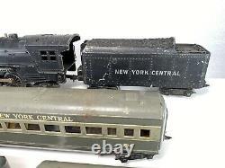 Marx Trains #333 Locomotive 2-6-2 Pacific New York Central Passenger Train Set O