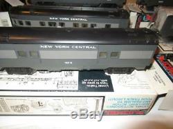 Mpc Lionel 16016-21 New York Central 027 Six Car Passenger Set- Ln- P9