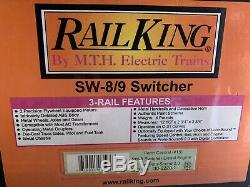 Mth Railking Penn Central Sw-8 Switcher Diesel Engine! Ps2 New York